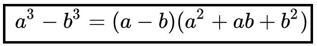 Hiệu hai lập phương