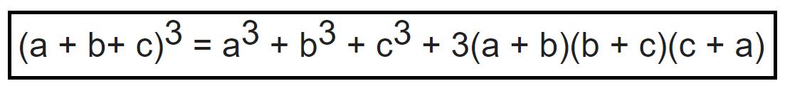 Lập phương của tổng 3 số hạng