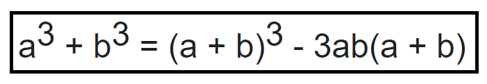 Tổng hai lập phương hệ quả