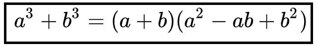 Tổng hai lập phương